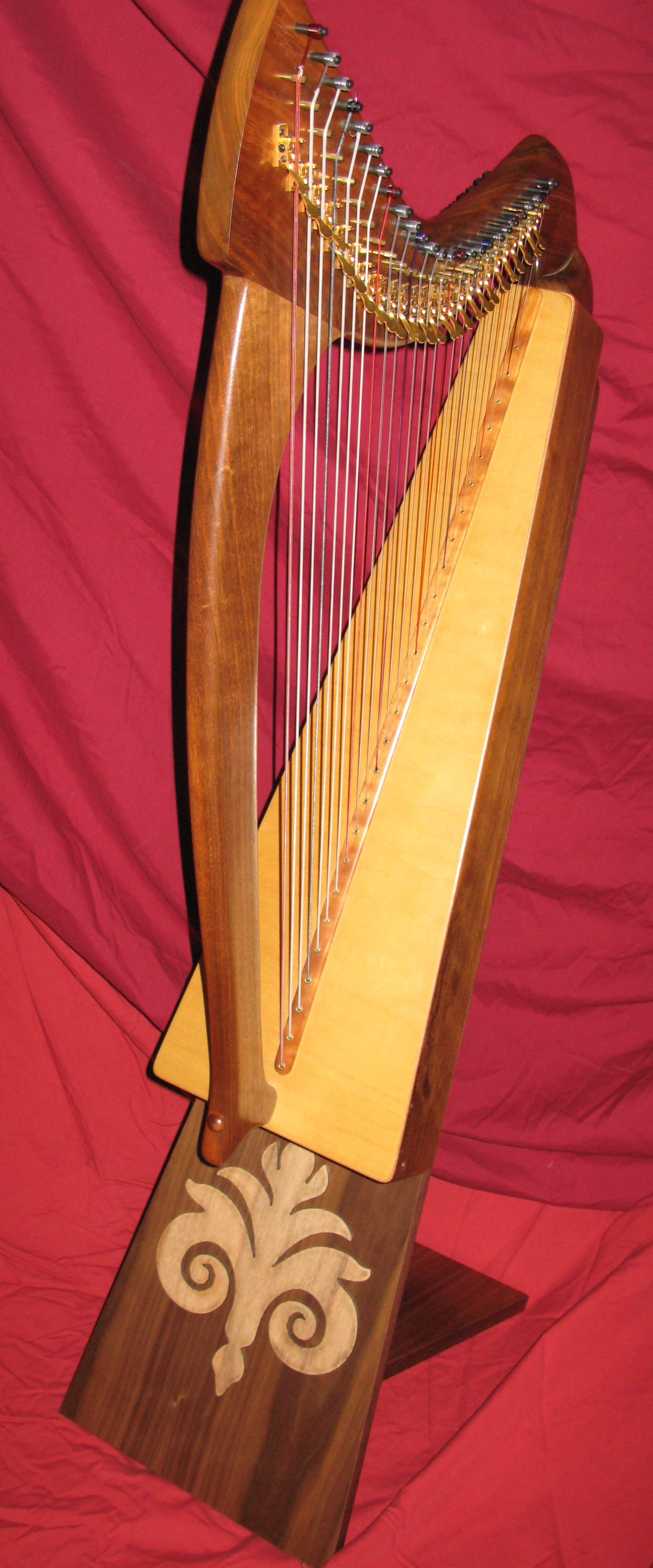 picture regarding Free Printable Lap Harp Music Cards known as Least complicated Participating in STAND FOR Very low HARPS! Laurie Riley Songs