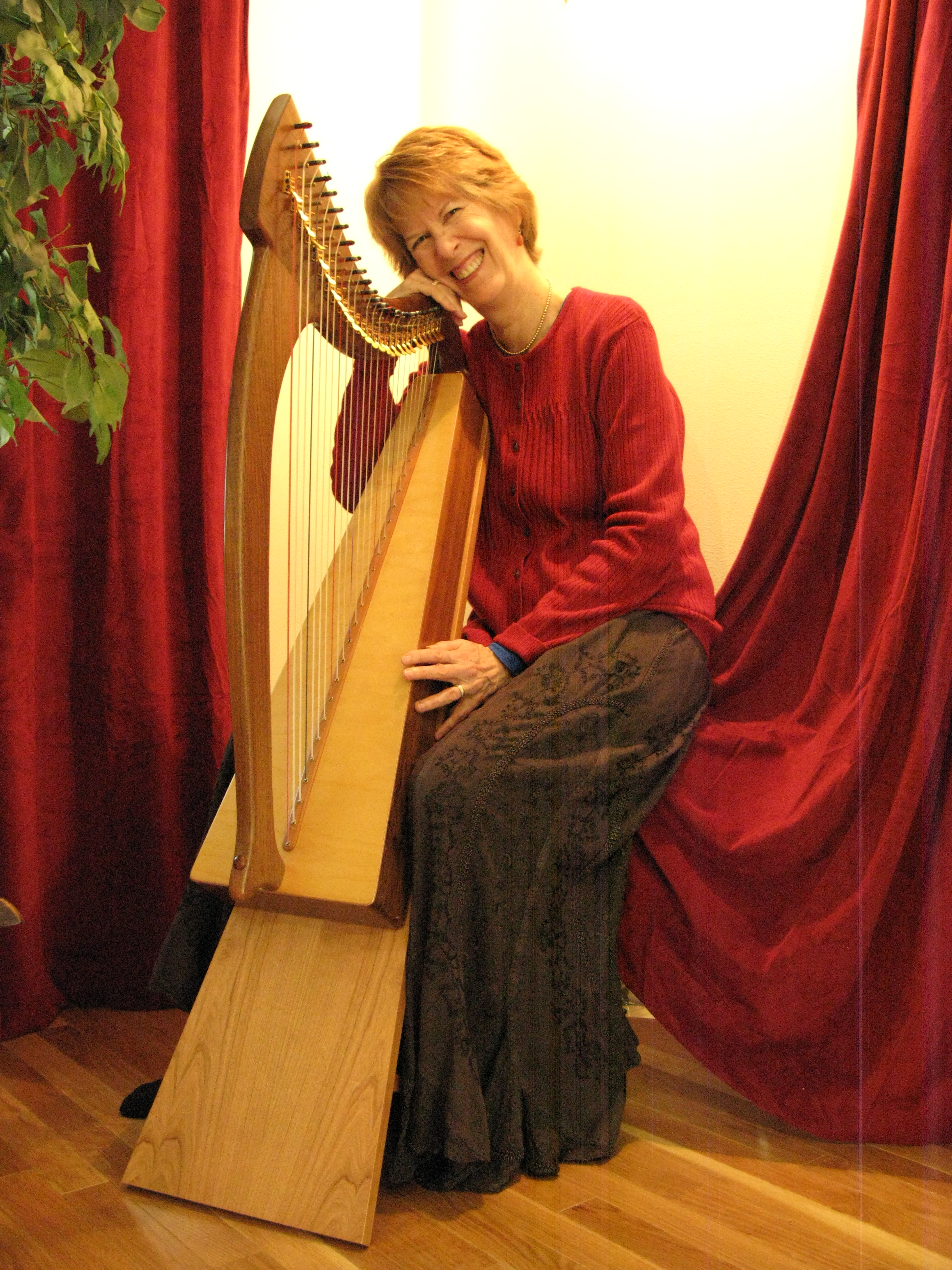 picture regarding Free Printable Lap Harp Music Cards identify Easiest Taking part in STAND FOR Minimal HARPS! Laurie Riley New music
